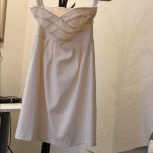 Dress - Nanette Lepore size 2 Beige.